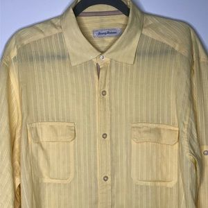 Tommy Bahama Large casual button down shirt